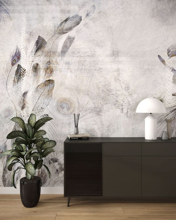 Kaufen Designer Fototapeten Pavone | 3d tapete