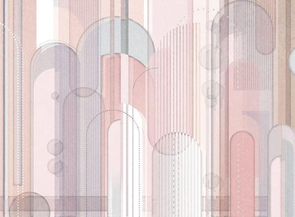 Designer Fototapeten Insolitamente hell beige | 3d tapete