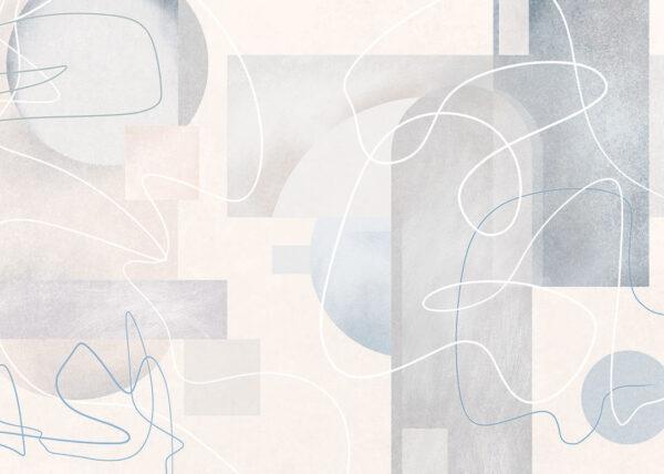 fototapete schlafzimmer Fototapeten Kritzeln Beispiel grelle Farbe | 3d tapete
