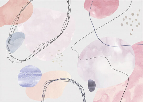 Kaufen Designer Fototapeten Kringel hellgrau in anderen Farben | 3d tapete