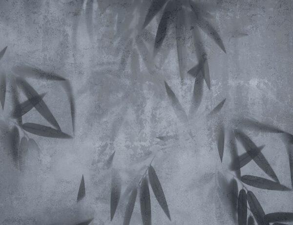Design Fototapeten Dunkles Geheimnis Beispiel blau | fototapete natur