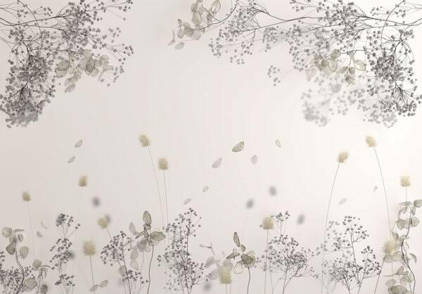Kaufen Designer Fototapeten Beispiel Weiß   fototapete natur