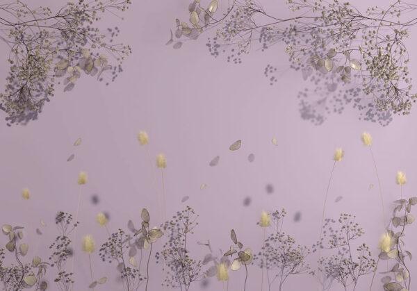 Kaufen Designer Fototapeten Beispiel lila   fototapete natur