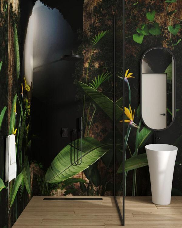 Design Fototapeten Grotta | fototapete badezimmer