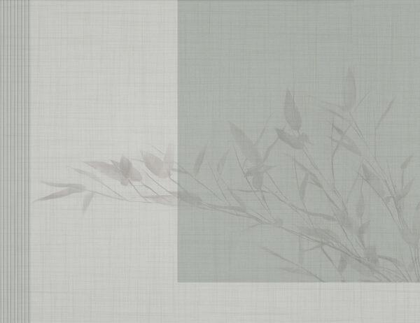 Design Fototapeten Schatten Beispiel Grün | fototapete natur