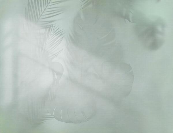 Design Fototapeten Shadow beispiel grau Grün | fototapete natur