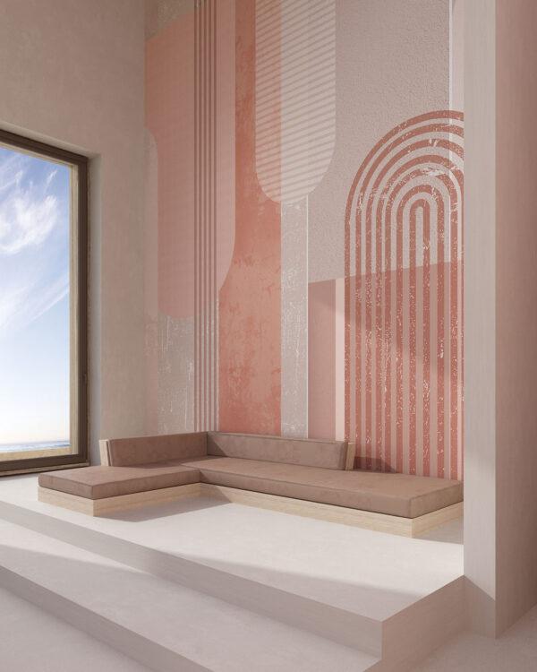 Designer Fototapeten Geometria | 3d tapete