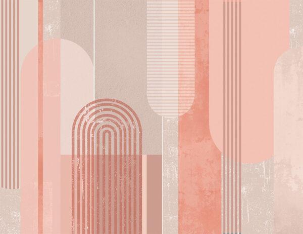 Kaufen Fototapeten Geometria Beispiel Amaranth rosa | 3d tapete