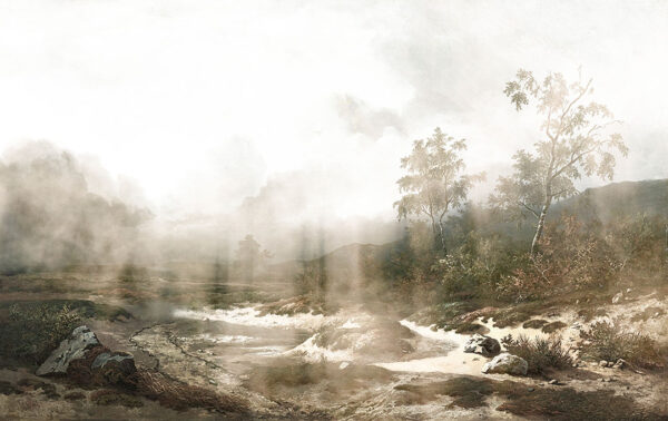 Design Fototapeten Vigas Beispiel Grün   fototapete natur