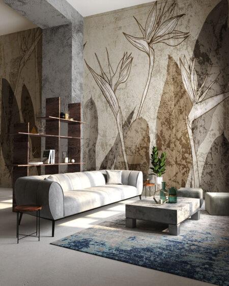 Designer Fototapeten Arhus | 3d tapete wohnzimmer