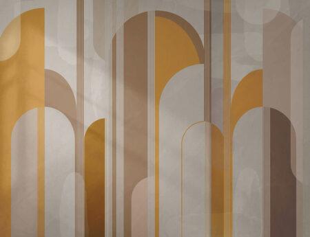 Designer Fototapeten Roskilde Beispiel Gelbtöne | 3d Fototapete schlafzimmer