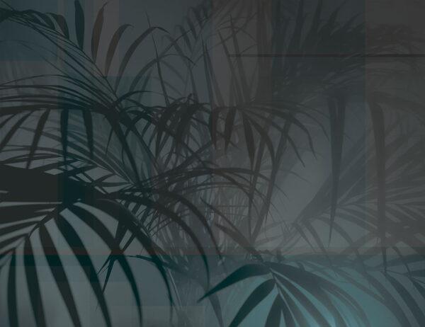 Design Fototapeten Slagelse Beispiel dark blau | fototapete natur
