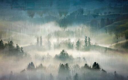 Design Fototapeten Midvåg Beispiel blau | fototapete natur