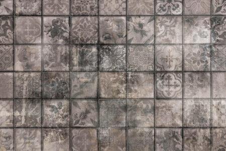 Designer Fototapeten Lervig Beispiel fliesengrau | 3d steintapete