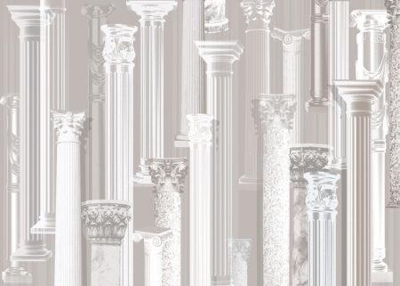 Designer Fototapeten Aalborg Beispiel leichte Säulen | 3d tapeten